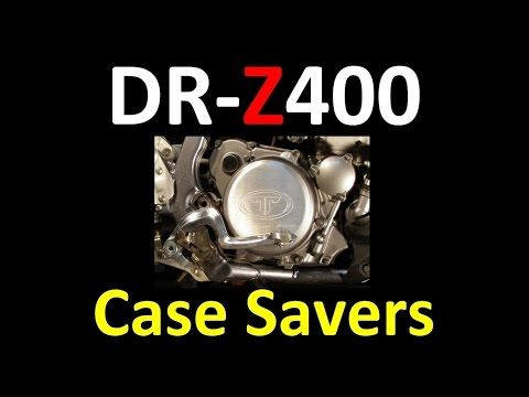 Suzuki DR-Z400 series Shift Lever & Case Saver Modifications (MANDATORY MODS) - YouTube