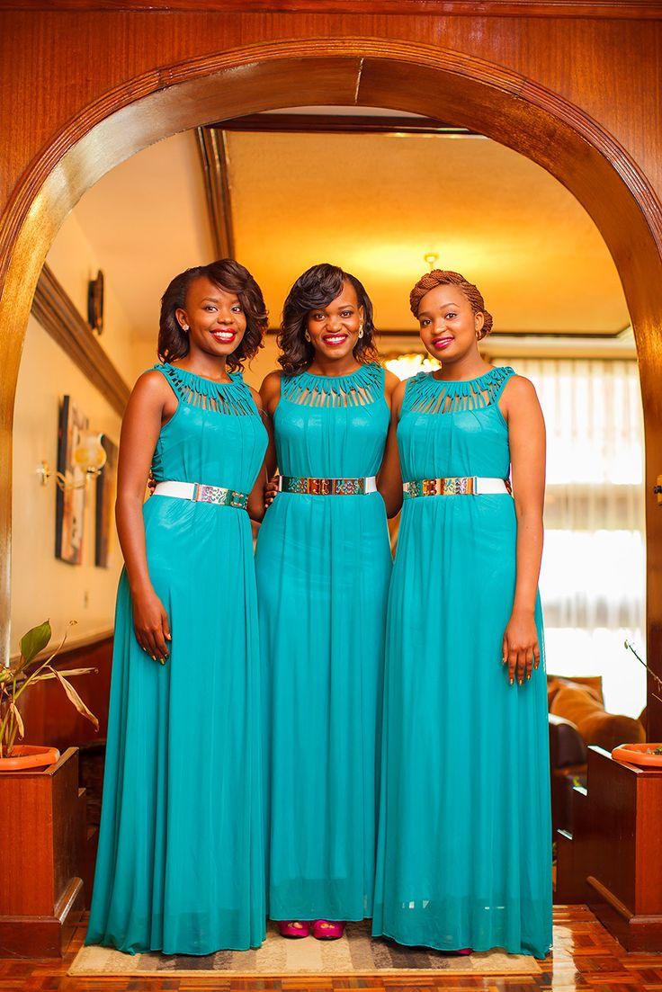 Slaying Bridesmaids! #GraceOutlook #BridesmaidInspir… | African and ...