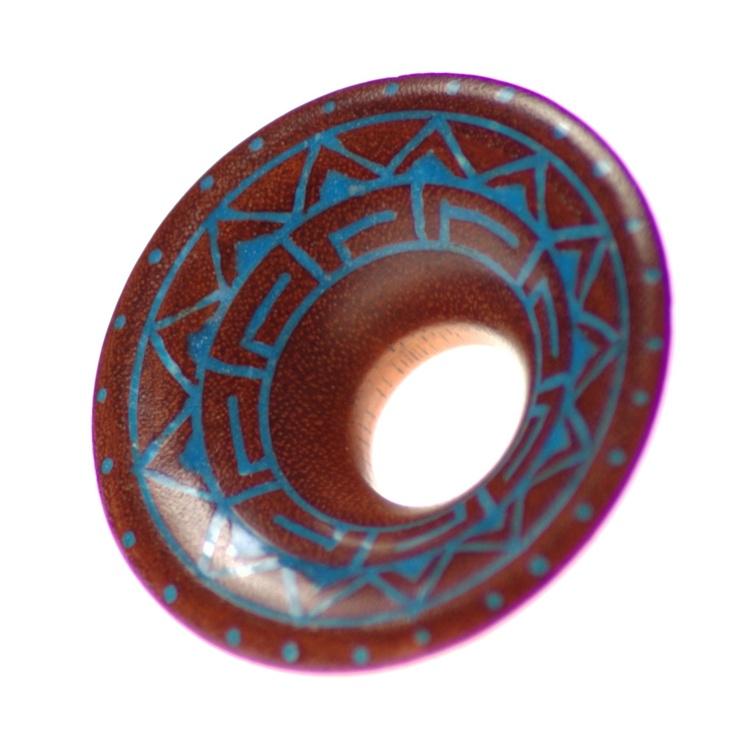 tunel z niebieskim wzorem - Maasima