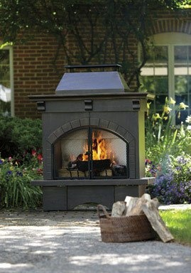 Best 25 Outdoor Wood Burning Fireplace Ideas On Pinterest