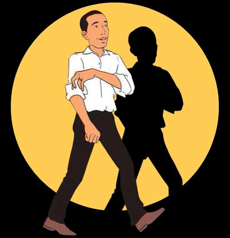 Jokowi a la Tintin