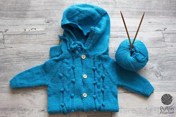 Baby Overall Strickanzug Winteranzug Strampler