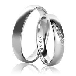Snubní prsten, model č. K24