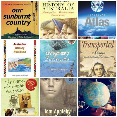 Our Home Schooling Days, Australian history books