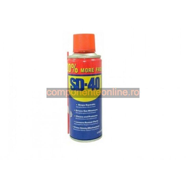 Spray de curatat si uns, cu ulei, SD-40 150g - 131205