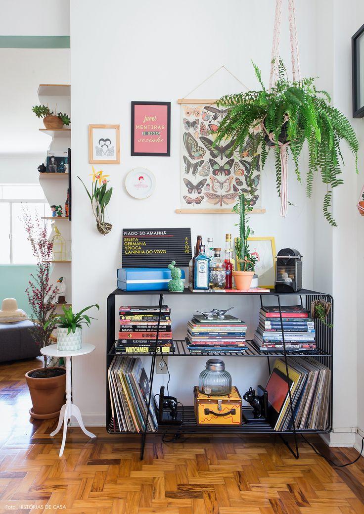 Artesanato Variados Como Fazer ~ As 25 melhores ideias de Aparador preto no Pinterest Bar em apartamento, Aparador sala e