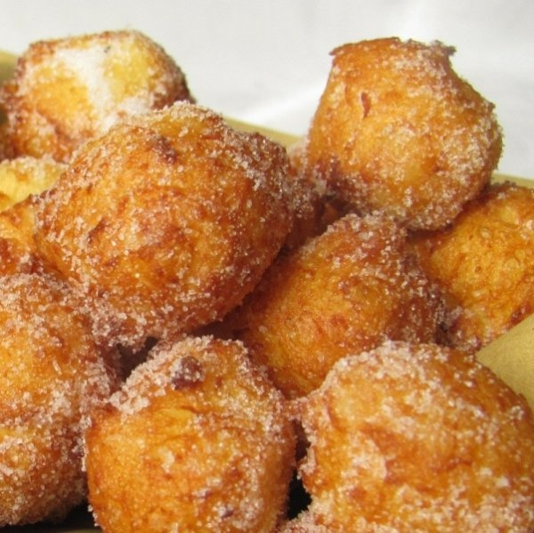 Frittelle - typical Carnival doughnuts
