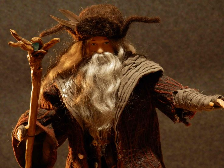 The costume for the Radagast brown. Made for 1/6 scale doll. Radagast brown. Made by Juditheart