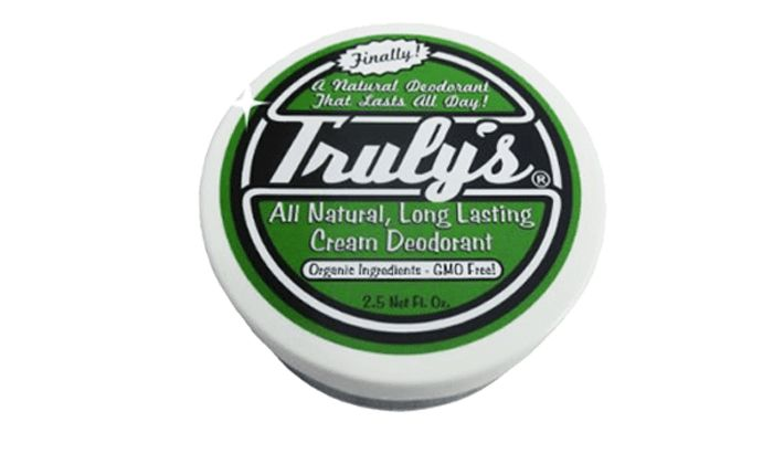 Best Organic Deodorant For Men Without Aluminum: Truly's Natural Deodorant For Men, ORGANIC (without aluminum)