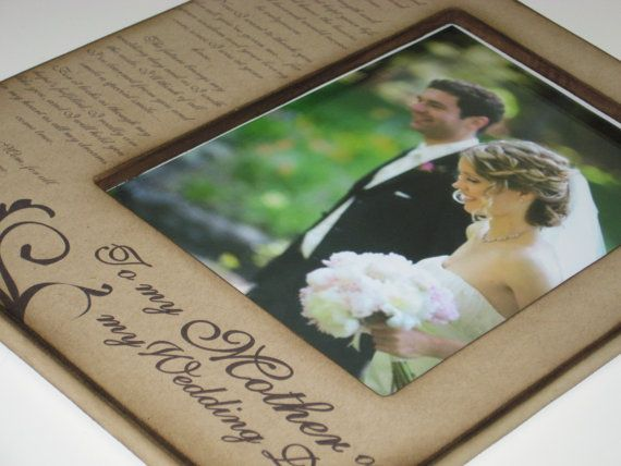 Mother of the Bride Keepsake Custom Gift by PolishedProductions, $90.00