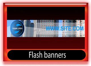 Flash banner templates