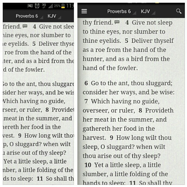 Proverbs 6: 4-11Sleep is for suckers. I dont sleep so i can accomplish all i want in life