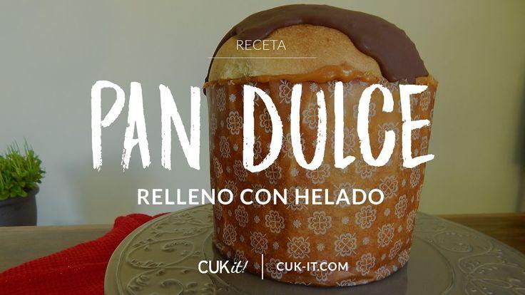 Receta de Pan Dulce relleno con Helado - CUKit!