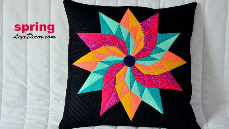#patchwork #spring #leaves #tutorial #pattern #vzory #šablony #video #lizadecor