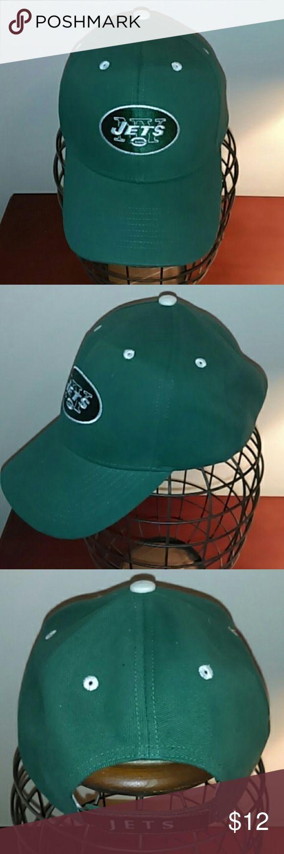 New York Jets Men's adjustable hat NFL apparel New York Jets Men's adjustable hat NFL apparel NFL Accessories Hats