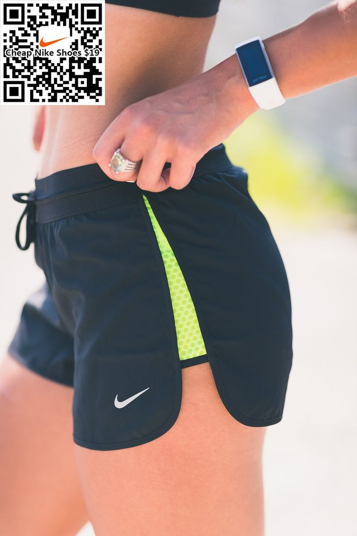 niker running shorts, nike activewear, nike women flyknit, cute workout outfit, fitness inspiration, athleisure // A Southern Drawl | Fashion, Fitness, Travel Blog