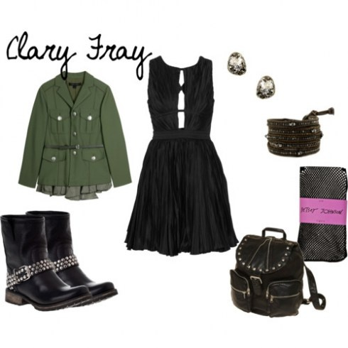 Inspired by Clary Fray from The Mortal Instruments.