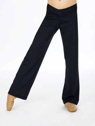 Adult V-Front Jazz Pant - Style No D5107 These are my favorite jazz pants, easy to move in, and also doubles in a nice evening outfit