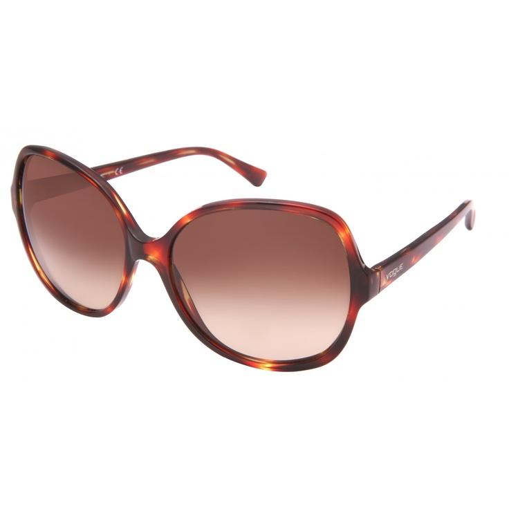 Round #Vogue Sunglasses