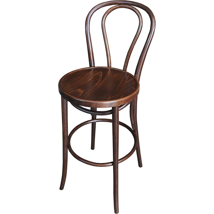 Bentwood high stools are comfortable, beautiful and well made. Looks equally great at home as it does in a cafe orrestaurant.