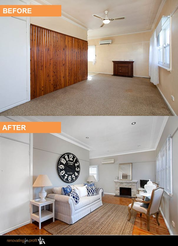 Luxury Apartment Renovation before and after