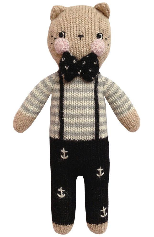 Handmade by Fournier for Ooshki. 100% baby alpaca. Made by artisans in Bolivia.