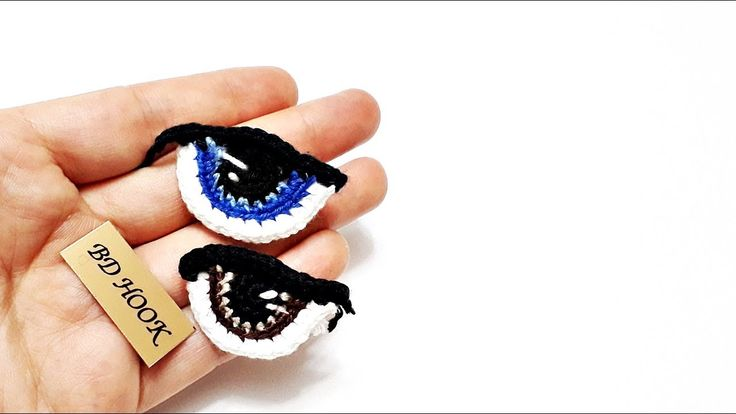 амигуруми Amigurumi Bebek Göz Örülüşü How To Crochet Eyes For Your Amigu...