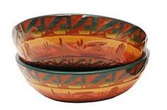 southwestern dinnerware | Navajo Crafted Dinnerware Set - Ceramics - For the Home Southwest .