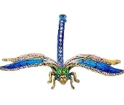 "Dragonfly Decoration Figurine Swarovski Crystals   Save 10% on your order! Use code ""pinterest"" FREE STANDARD SHIPPING ON ALL ORDERS!"