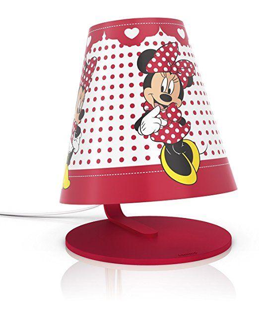 Philips e Disney, Minnie Mouse, Lampada da Tavolo LED 3W