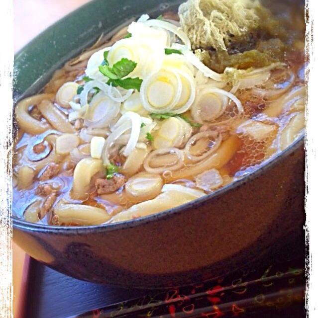寒い朝に〜♪( ´▽`) - 50件のもぐもぐ - 挽肉朝うどん〜♪ by Hiromiromi