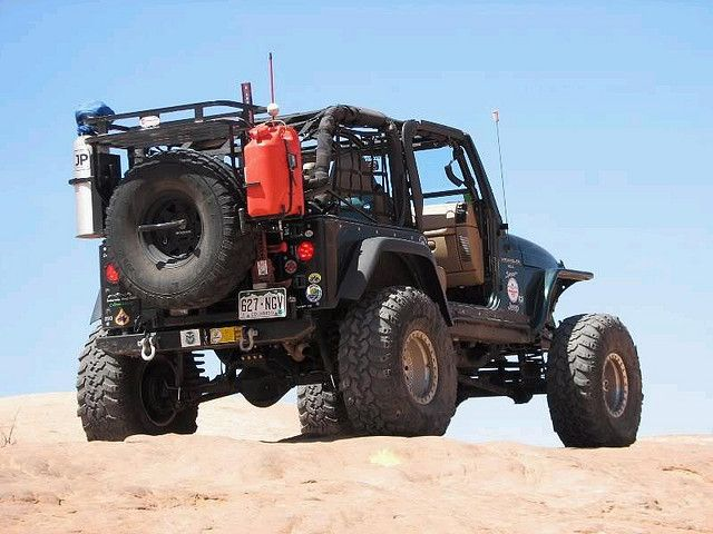 Maybe someday i can be this cool.. Wrangler Sport - survival addition