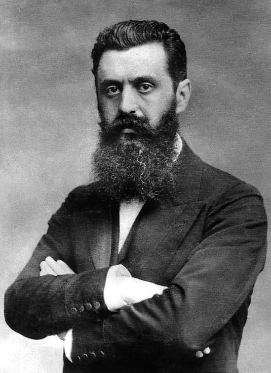 http://israelvets.com/picts/nation_reborn/full_size_images/HerzlFPO.jpg Theodor Herzl, 1896 reinvigorated Zionism
