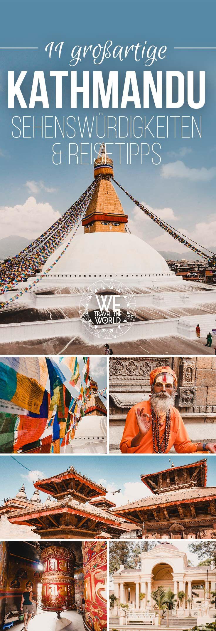 Der ultimative City Guide mit allen Kathmandu Sehenswürdigkeiten, Highlights & Reisetipps für 3 Tage, inklusive schönen Hotels, guten Restaurants & Touren. #reisetipps #nepal #kathmandu #sehenswürdigkeiten
