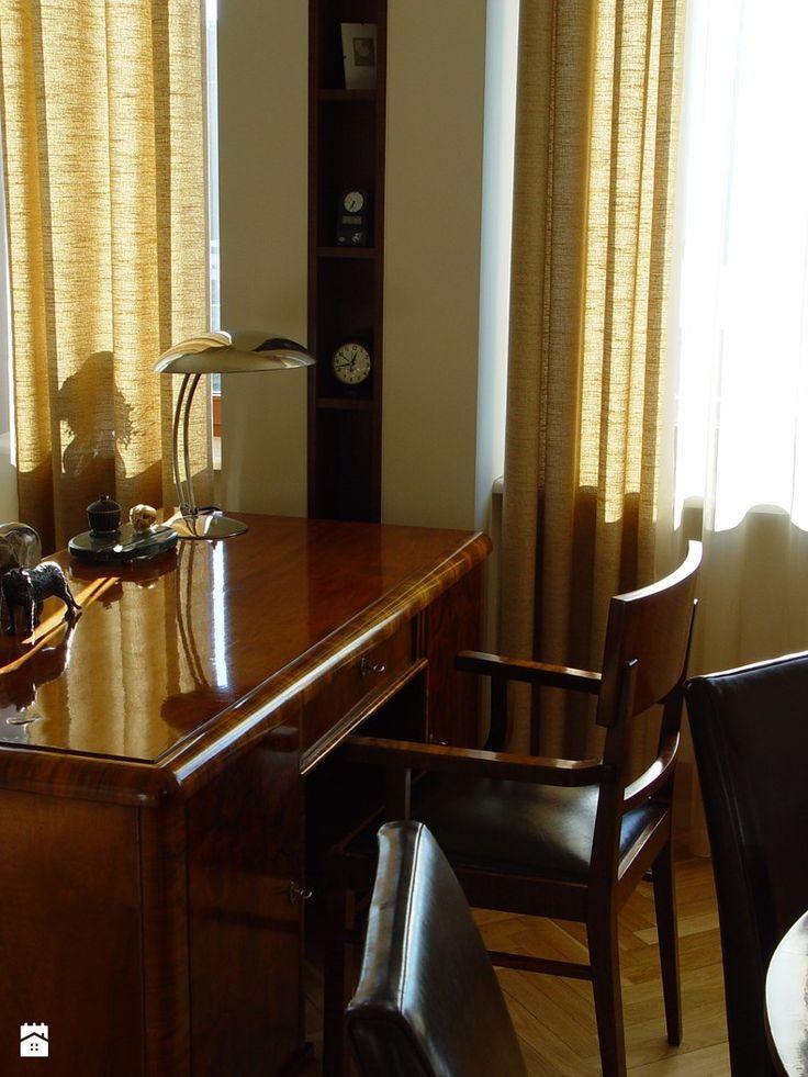 Gabinet styl Art- deco - zdjęcie od hmarchitekci - Gabinet - Styl Art- deco - hmarchitekci