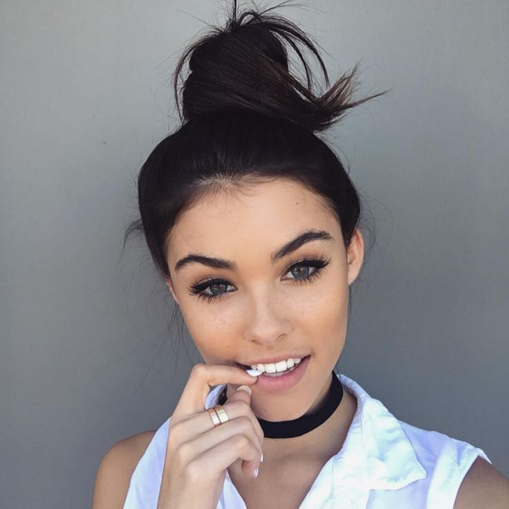 {Madison Beer} Hey I'm Madison Dallas and I'm 18 years old. I love going to the beach. My brother is Cameron Dallas. I'm also deaf so that sucks *sighs* I'm actually single so.. Intro?