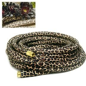 Dirt Couture - Leopard Garden Hose! Omg I want this for my future house