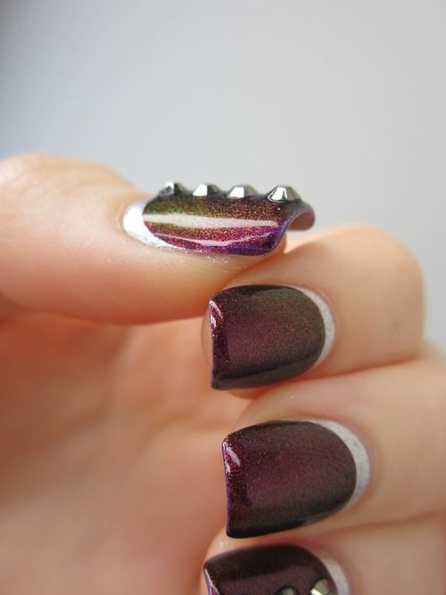Studded Ruffian Manicure Pictures, Photos, and Images for Facebook, Tumblr, Pinterest, and Twitter