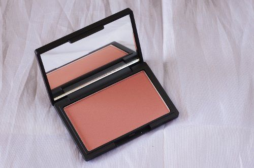 Sleek Makeup Blush in Suede doubled up as a great bronzer for pale skin