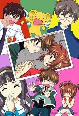 Olha o Toya, éé, mesmo quando chateia a irmã, não engana ninguém!! E a Sakura!! Toda engolhidinha!! E o Syaoran!! Todo chateado e não sei quê, mas depois, ama-a!! É, mas a Dadouiji bate todos!! ***Risos***