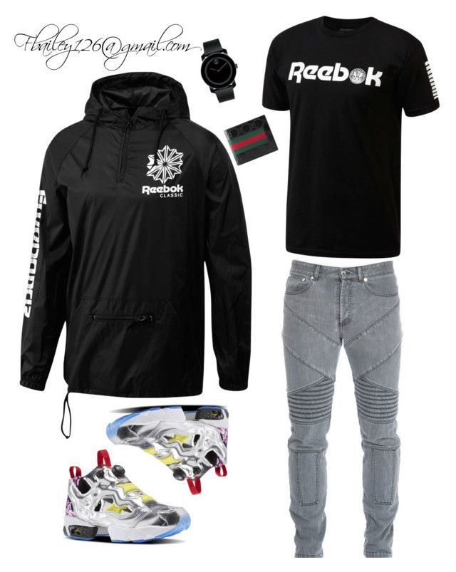 gucci outfits. untitled #774 by fbailey126 on polyvore featuring polyvore, reebok, givenchy, movado, gucci outfits