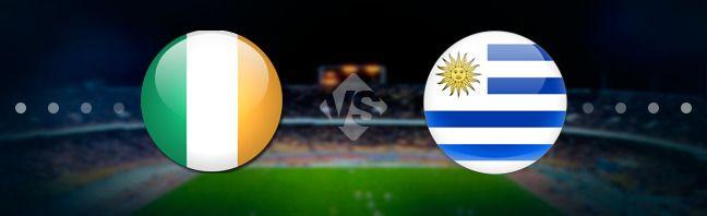 Ирландия - Уругвай. Прогноз на матч 04.06.2017 http://ratingbet.com/prognoz/all/5203-irlandiya-urugvay-prognoz-na-match-04062017.html   Бесплатный прогноз на матч Ирландия - Уругвай, который состоится 04 июня 2017