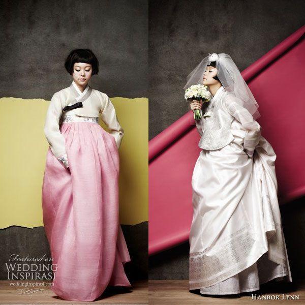 Gorgeous Korean Hanboks - Hanbok Lyn - the traditional korean wedding or ceremonial dress