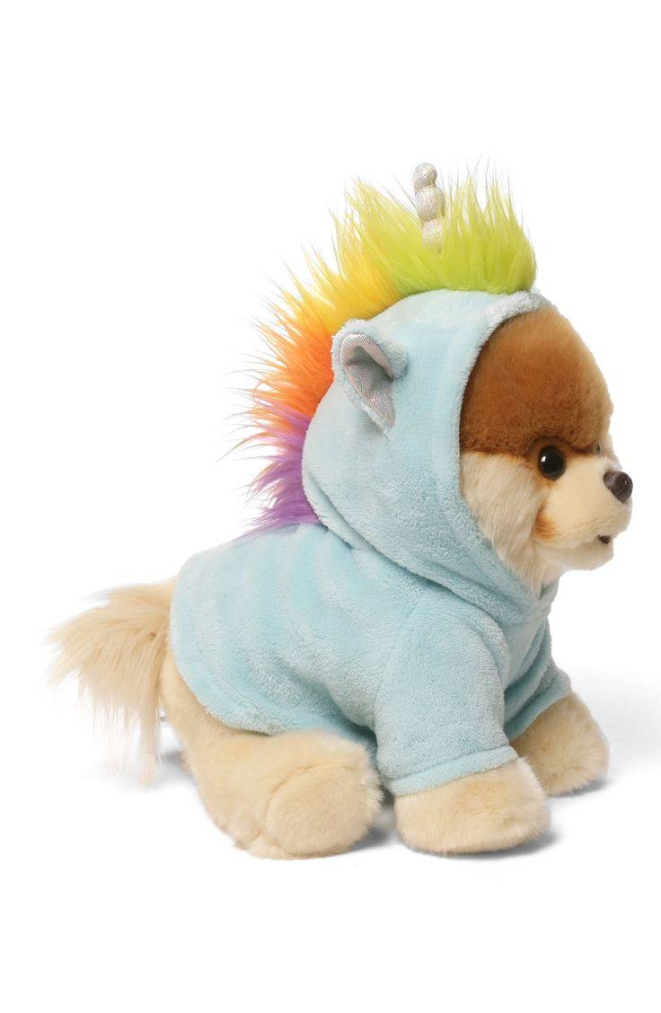 'Boo - Unicorn' Stuffed Animal