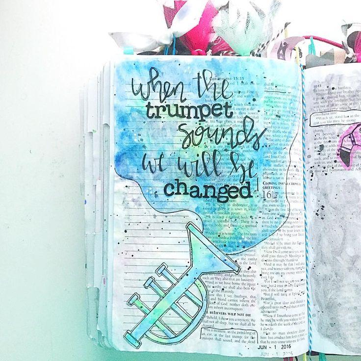 Bible Journaling by Kelsie @kelsienoellee                                                                                                                                                                                 More