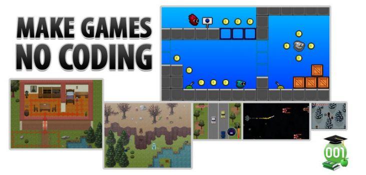 001 Game Creator Makes Game Design a Breeze
