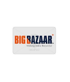 Big Bazaar Gift Voucher Worth Rs.5,000/- @ Rs.4,470/-