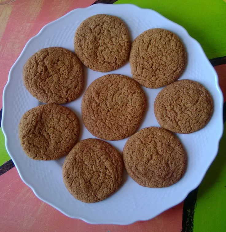 gluten free ginger cookies | Recipes | Pinterest