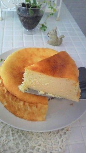 ダイエットの方も♪カッテージチーズケーキ