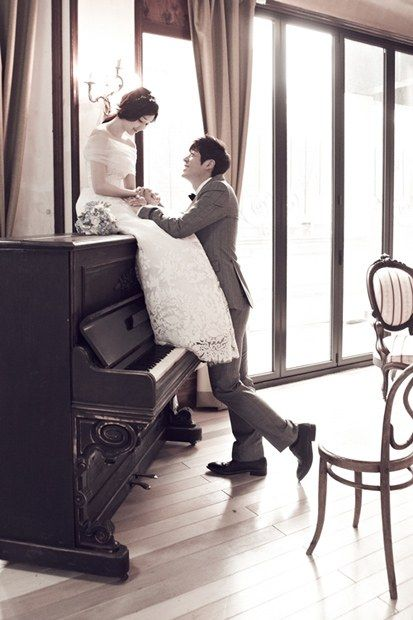 Actor Seo Ji Suk shares a photo from his romantic wedding pictorial before the big day